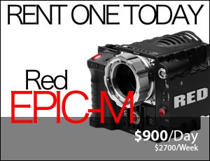 Red Epic-M Camera Rental Utah