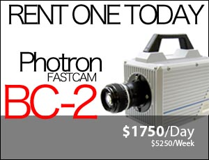 Photron FastCam BC-2  Camera